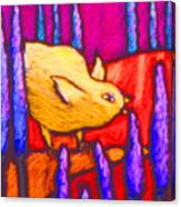 Chick Canvas Print