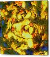 Chicken Beauty Canvas Print