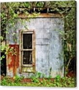 Chicken Coop Canvas Print