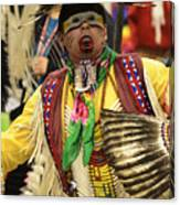 Pow Wow Chicken Dancer Canvas Print