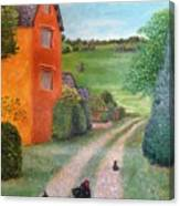 Chicken Farm Canvas Print