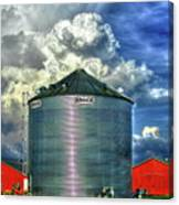 Chicken Feed Other Worldly Sky Art Canvas Print