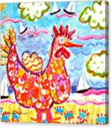 Chicken Of The Sea Canvas Print