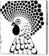 Chicken Tattoo  Canvas Print
