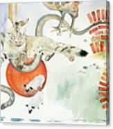 Chickenfoot Serpentine Canvas Print