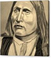 Chief Big Bow Canvas Print