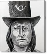 Chief Bird-Arapahoe Canvas Print