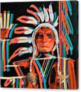 Chief Brill Yount Canvas Print