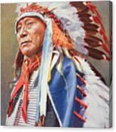 Chief Hollow Horn Bear Canvas Print