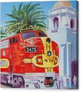 Chief In San Diego Canvas Print