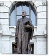 Chief Justice Edward Douglas White Statue- Nola Canvas Print