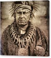 Chief Keokuk  Canvas Print
