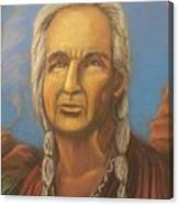 Chiefly Wisdom Canvas Print
