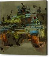 Chieftain Tank Abstract Canvas Print