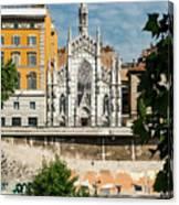 Chiesa Del Sacro Cuore Del Suffragio Canvas Print