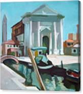 Chiesa San Barnaba Canvas Print