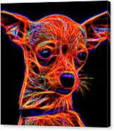 Chihuahua Dog Canvas Print