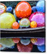 Chihuly Exhibit At The Denver Botanic Gardens Canvas Print