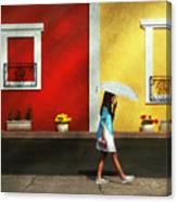 Child - A Bright Sunny Day  Canvas Print