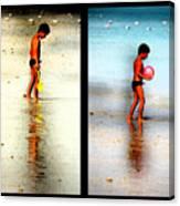 Child At Play Canvas Print
