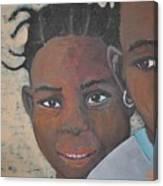 Children Burkina Faso Series Canvas Print