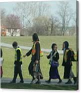 Children Crossing Canvas Print
