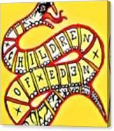 Children Of Eden's Snake Of Temptation Canvas Print