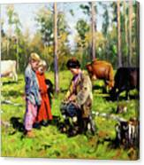 Children Of The Forest Canvas Print