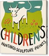 Children's Paintings-sculpture-prints Canvas Print