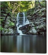 Child's Park Waterfall 2 Canvas Print