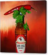 Chili Pepper, Coriander And Peri-peri By Kaye Menner Canvas Print