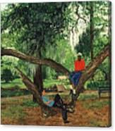 Chillin In City Park Nola Canvas Print
