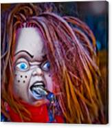 Chillin' With Chuckie Canvas Print