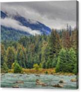 Chillkoot River Hdr Paint Canvas Print