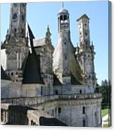 Chimney From Chambord - Loire Canvas Print