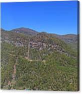 Chimney Mountain Canvas Print