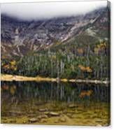 Chimney Pond During Fall - Baxter State Park Maine Canvas Print
