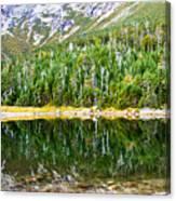 Chimney Pond Reflections 2 Canvas Print
