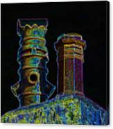 Chimney Pots. Canvas Print
