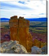 Chimney Rock Canvas Print