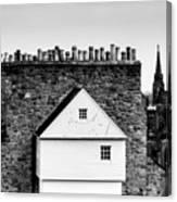 Chimneys In Edinburgh Canvas Print