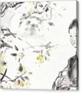 China Ancient Female Canvas Print