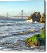China Beach To The Golden Gate Canvas Print