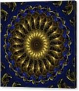 China Blue Canvas Print