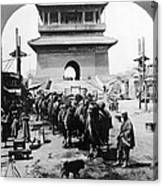 China: Caravan, C1919 Canvas Print