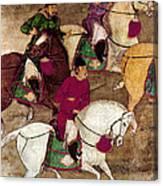 China: Horsemen Canvas Print