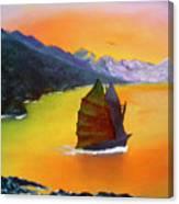 China Sea Canvas Print