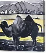 China Silk Road Canvas Print