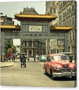 Chinatown Chevy  Canvas Print