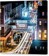 Chinatown Gates Canvas Print